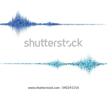 music square waveform