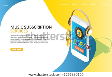 music subscription services