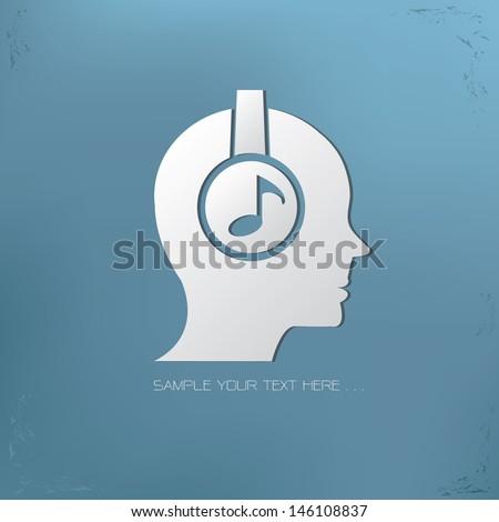Music symbol,vector