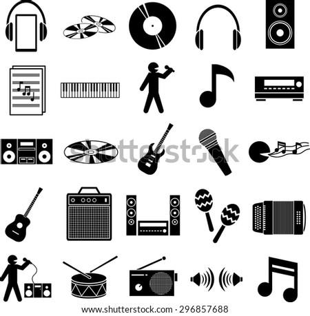 Muzikale Symbolen Instellen Download Gratis Vectorkunst En Andere