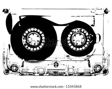 Music Tape Photocopy
