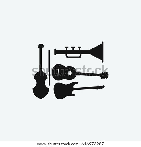music tool icon vector