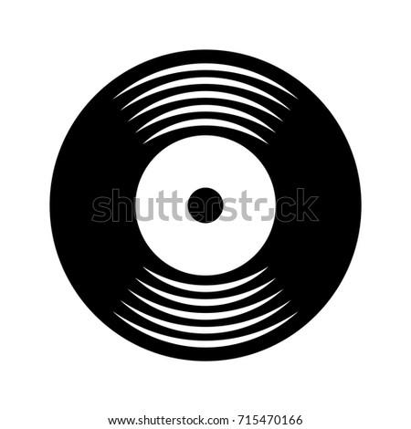 music vinyl disk vintage cartoon