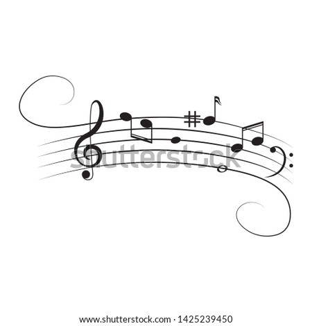 musical design element music
