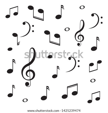 musical design element music