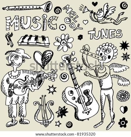 musical doodle mix