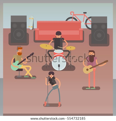 musical group rock or jazz