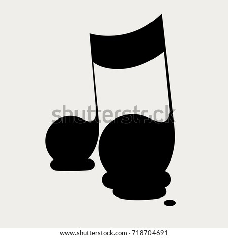 musical melting moment icon