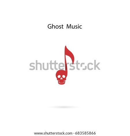 musical note sign and human