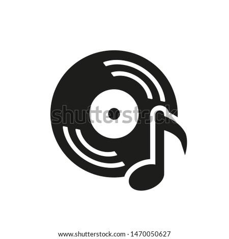 musical record  vintage vinyl