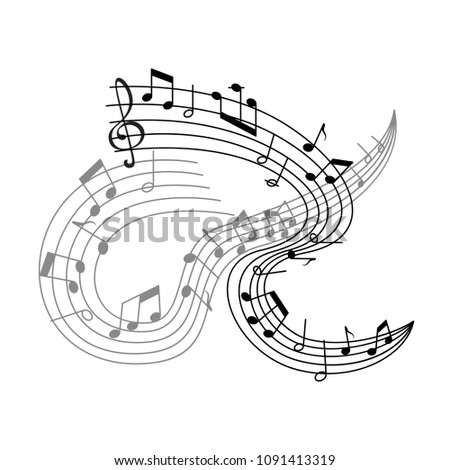 musical staff or music stave
