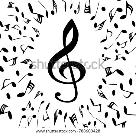 musical symbols with musical