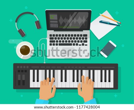 musician workspace studio