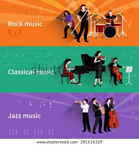 Similarities & Differences Between Rock & Classical Music