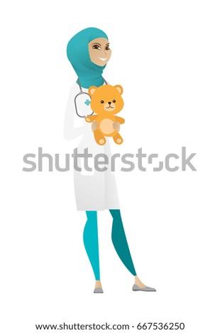 muslim pediatrician doctor