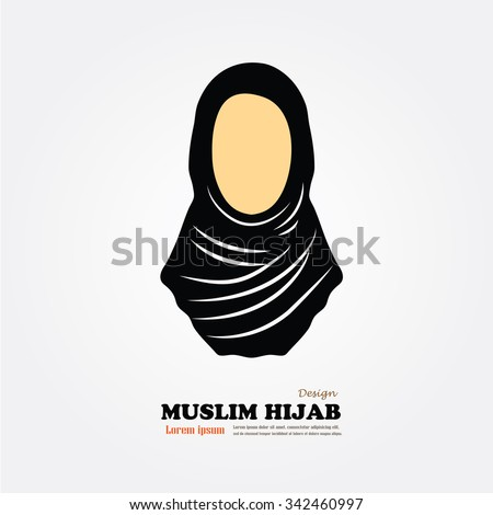 muslim woman  icon with hijab