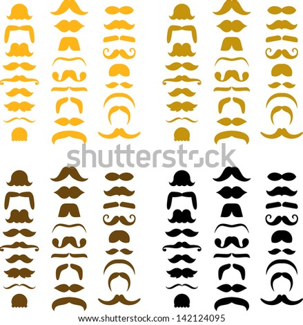 Mustache icons