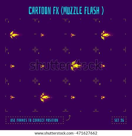 muzzle flash explosion sprites