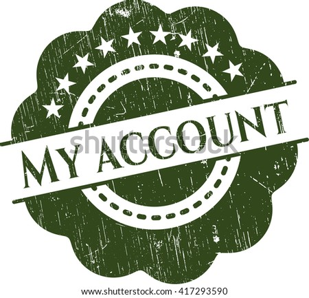 My account rubber seal
