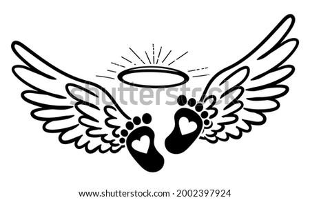 my little angel baby   hand