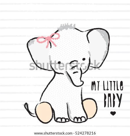 my little baby elephant  t
