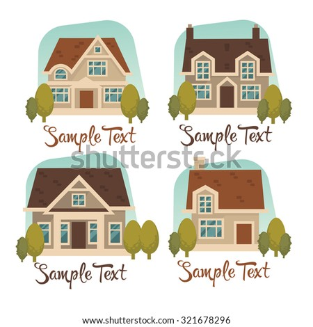my little home vector collection