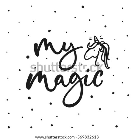 my magic cute motivation card