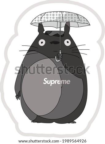 my neighbor totoro x supreme x