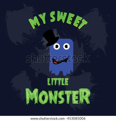 my sweet little monster blue