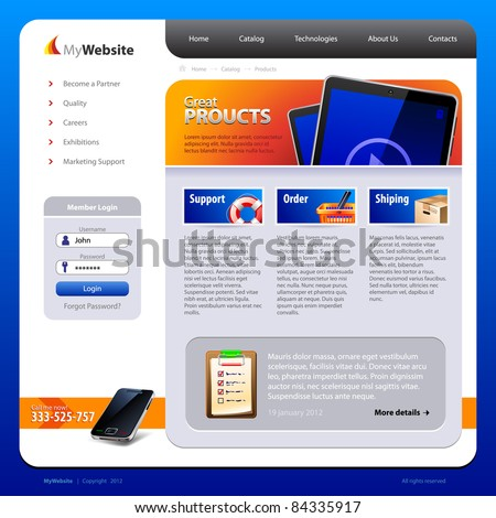My-Website-Design-Template