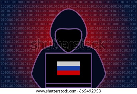 mysterious hooded russian