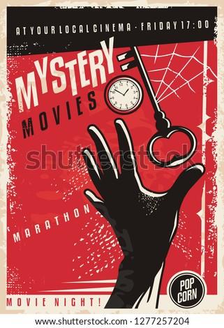 mystery movies marathon retro