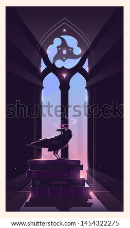 mystery vector illustration