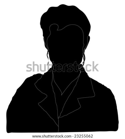 Mystery Woman Silhouette