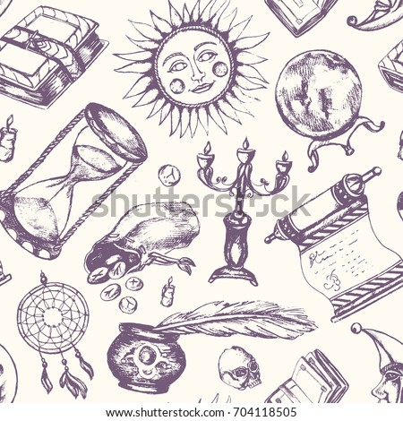 mystical arts   vector drawn