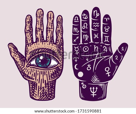 mystical magic palmistry