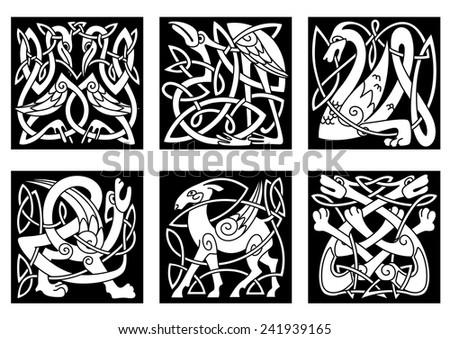 mythical celtic animals heron