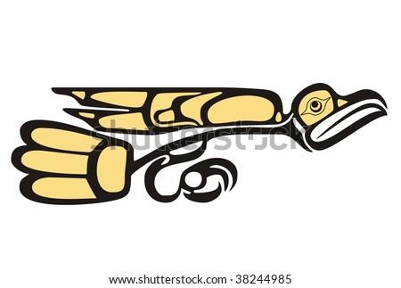 mythological image eagle vector