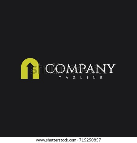 N Company Logo Vector Template Design