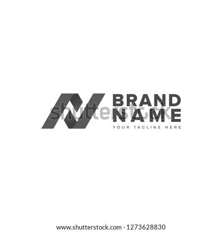 N L negative space logo