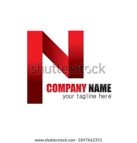 N shape creative logo for any company