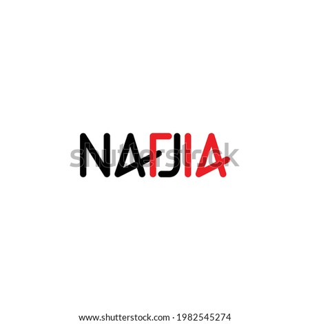 nadia typography with february