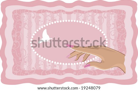 Nail Art Stock Vector 19248079 : Shutterstock