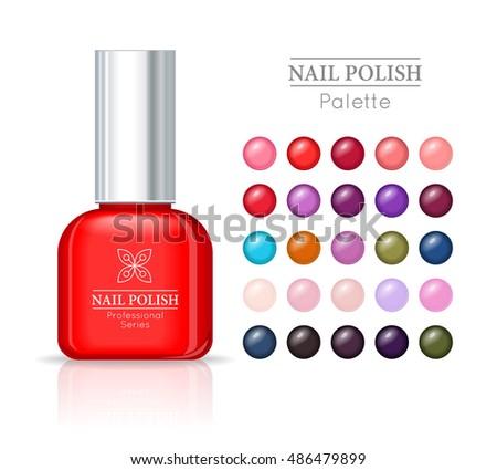nail polish pallet women