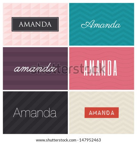 name amanda  graphic design