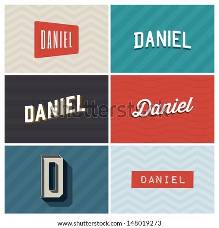 name daniel  graphic design
