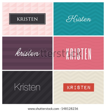 name kristen  graphic design