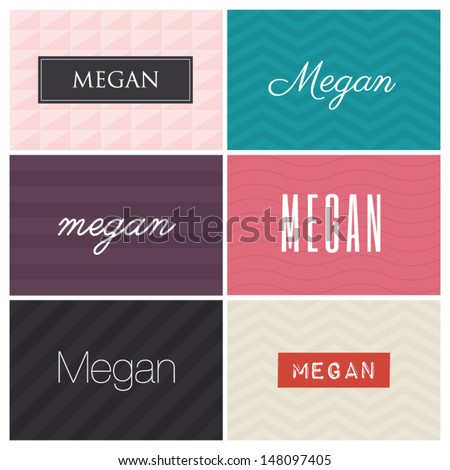 name megan  graphic design