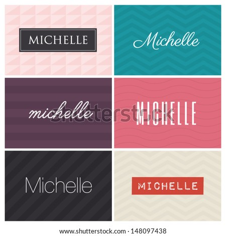 name michelle  graphic design