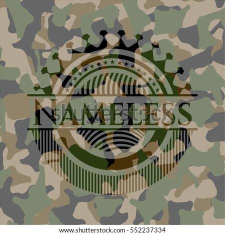 nameless camo emblem